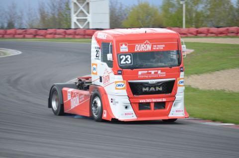 Autodrom Most truck
