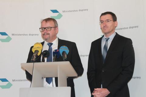Dan Ťok a tiskový mluvčí ministerstva Tomáš Neřold (ilustrační foto)