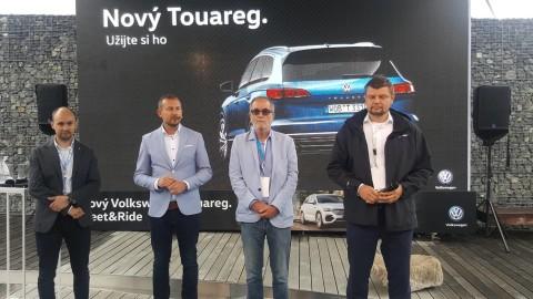 Tým značky VW pod vedením Jiřího Jantače